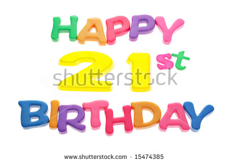 21st birthday pictures clip art vector freeuse 21st Birthday Stock Images, Royalty-Free Images & Vectors ... vector freeuse