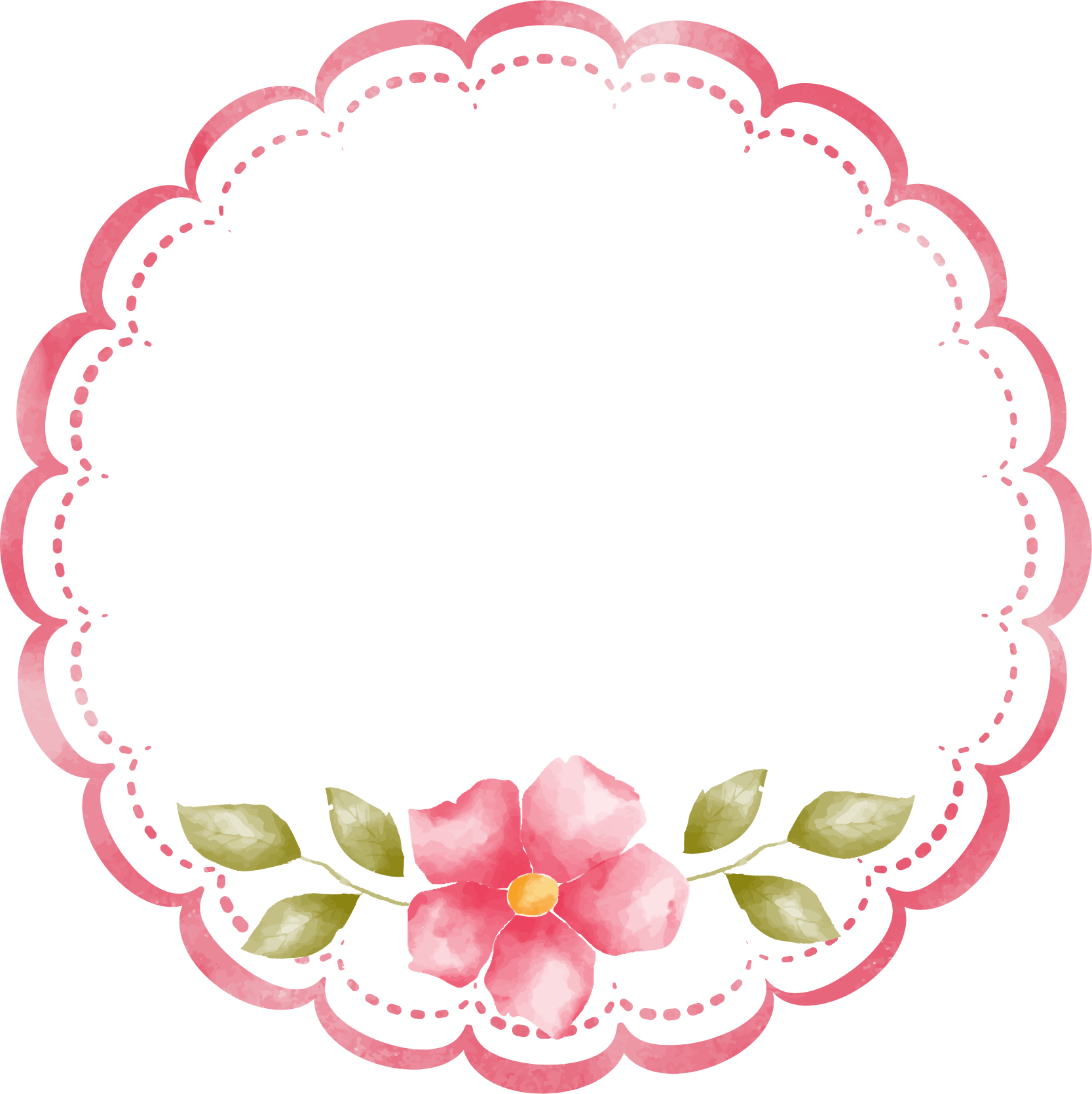 21st century Education Learning Clip art - floral frame 1667*1671 ... clip art library library