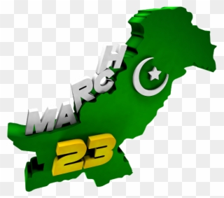 23rd March The Pakistan Day - 23 March Pakistan Day Png Clipart ... image stock