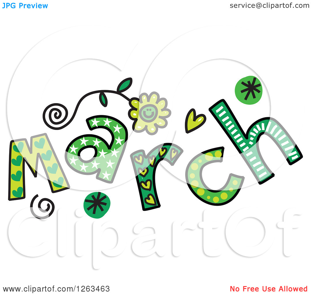 Month Of March Clipart | Free download best Month Of March Clipart ... graphic royalty free library