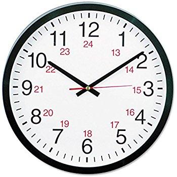 24 hour clock clipart svg freeuse Amazon.com: Universal 10441 - 24-Hour Roun #62496 - Clipartimage.com svg freeuse
