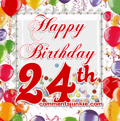 24th birthday clipart image royalty free Responses to \