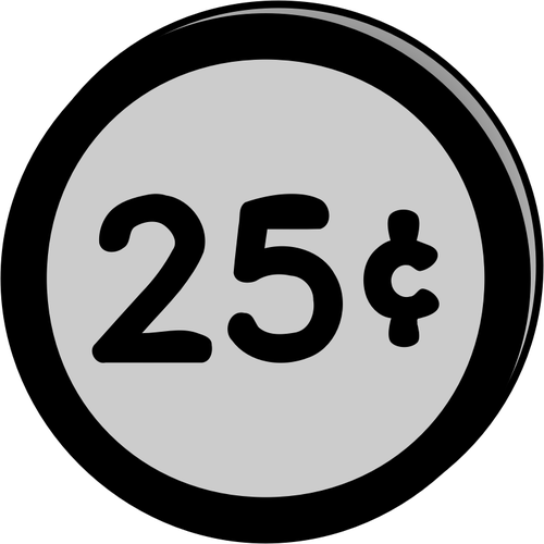 25 cents clipart clipart free download Coin 25 cents | Public domain vectors clipart free download