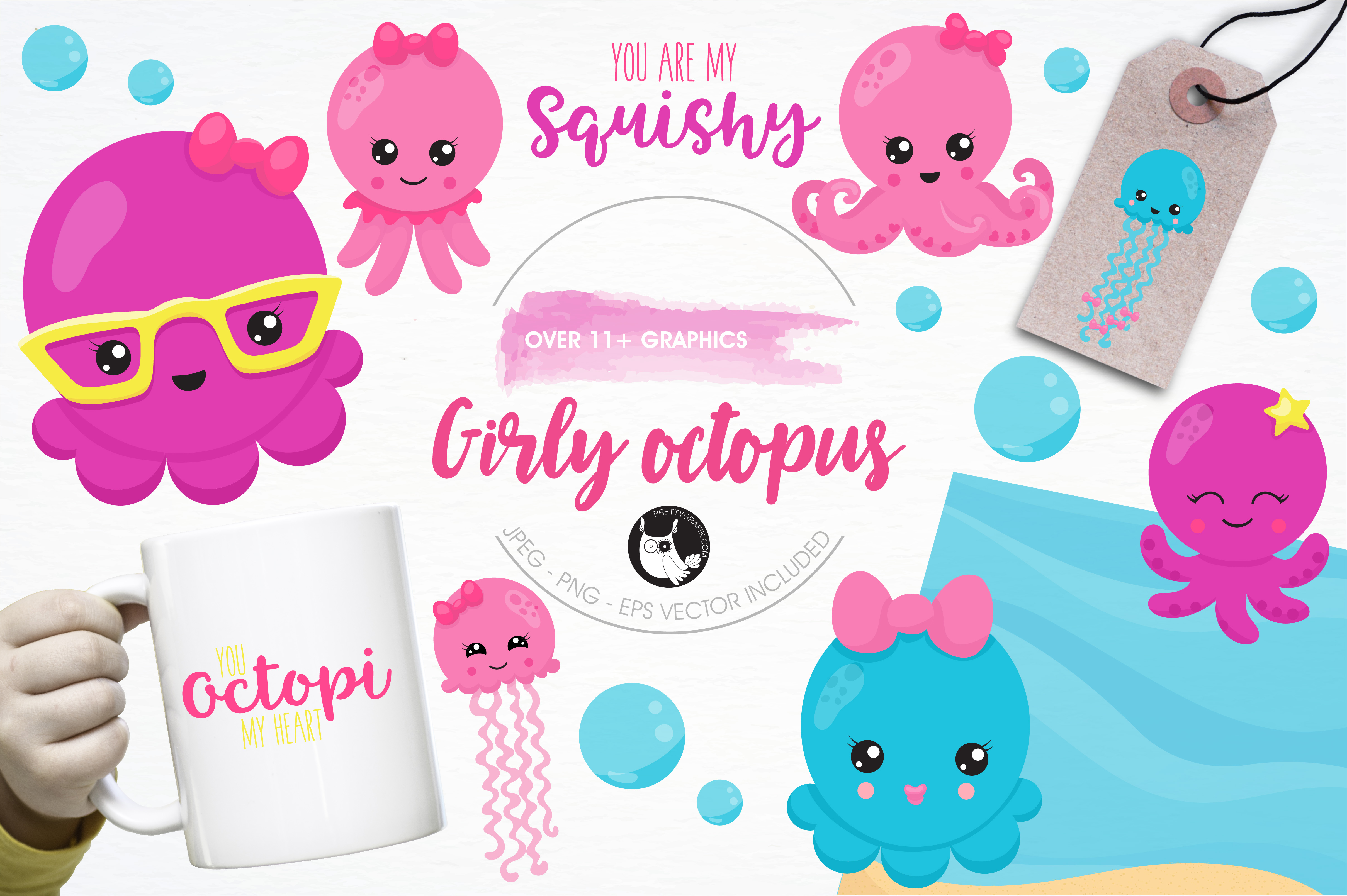 25 clipart girly clip freeuse download Octopus Clipart girly 2 - 4834 X 3217 Free Clip Art stock ... clip freeuse download