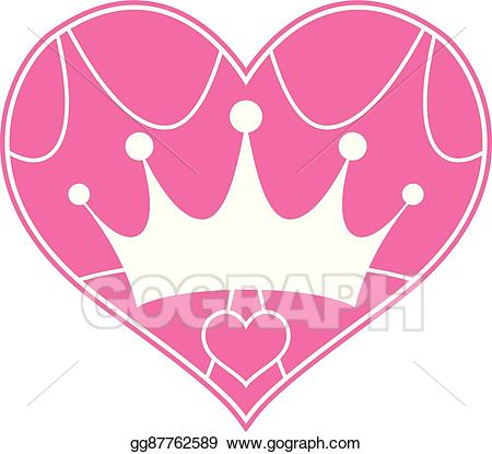 25 clipart girly black and white download Vector Art - Pink girly princess royalty crown. EPS clipart ... black and white download