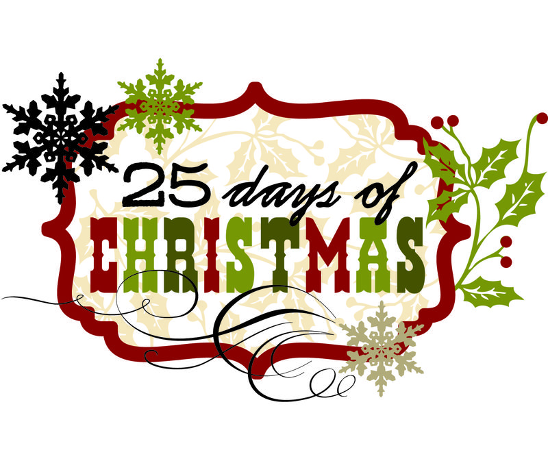 25 days of christmas clipart banner royalty free library 25 Days of Christmas - Simple Stories - Clip Art Library banner royalty free library