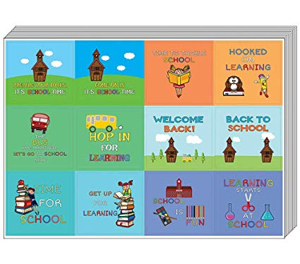 25 points incentive clipart black and white stock Creanoso Back to School Stickers for Kids (10-Sheet) – Inspiring Words for  Young Schoolers Sticker Collection Set – Teacher Rewards and Classroom ... black and white stock