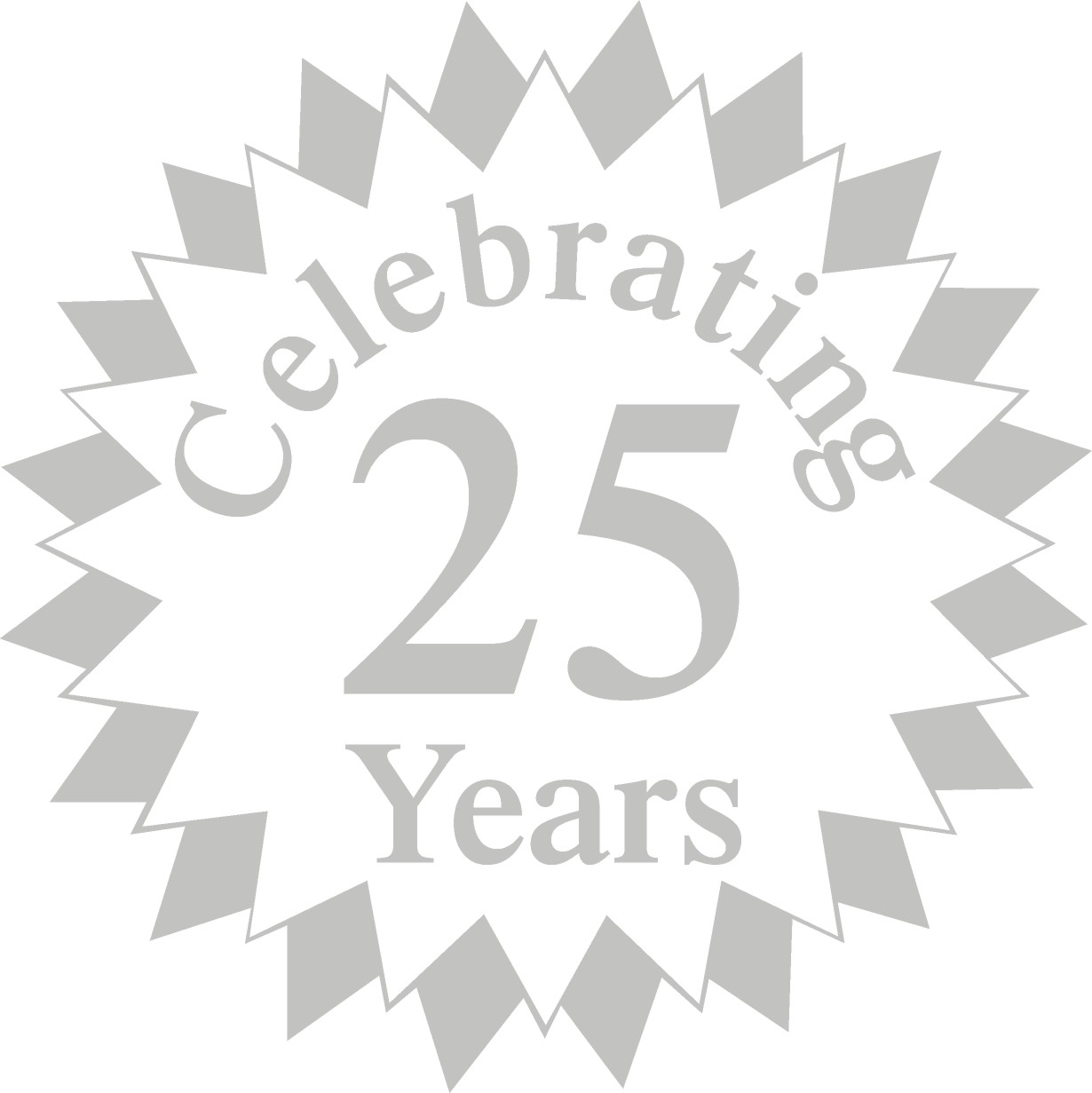 25 year anniversary clipart image royalty free library Free 25th Anniversary Cliparts, Download Free Clip Art, Free Clip ... image royalty free library