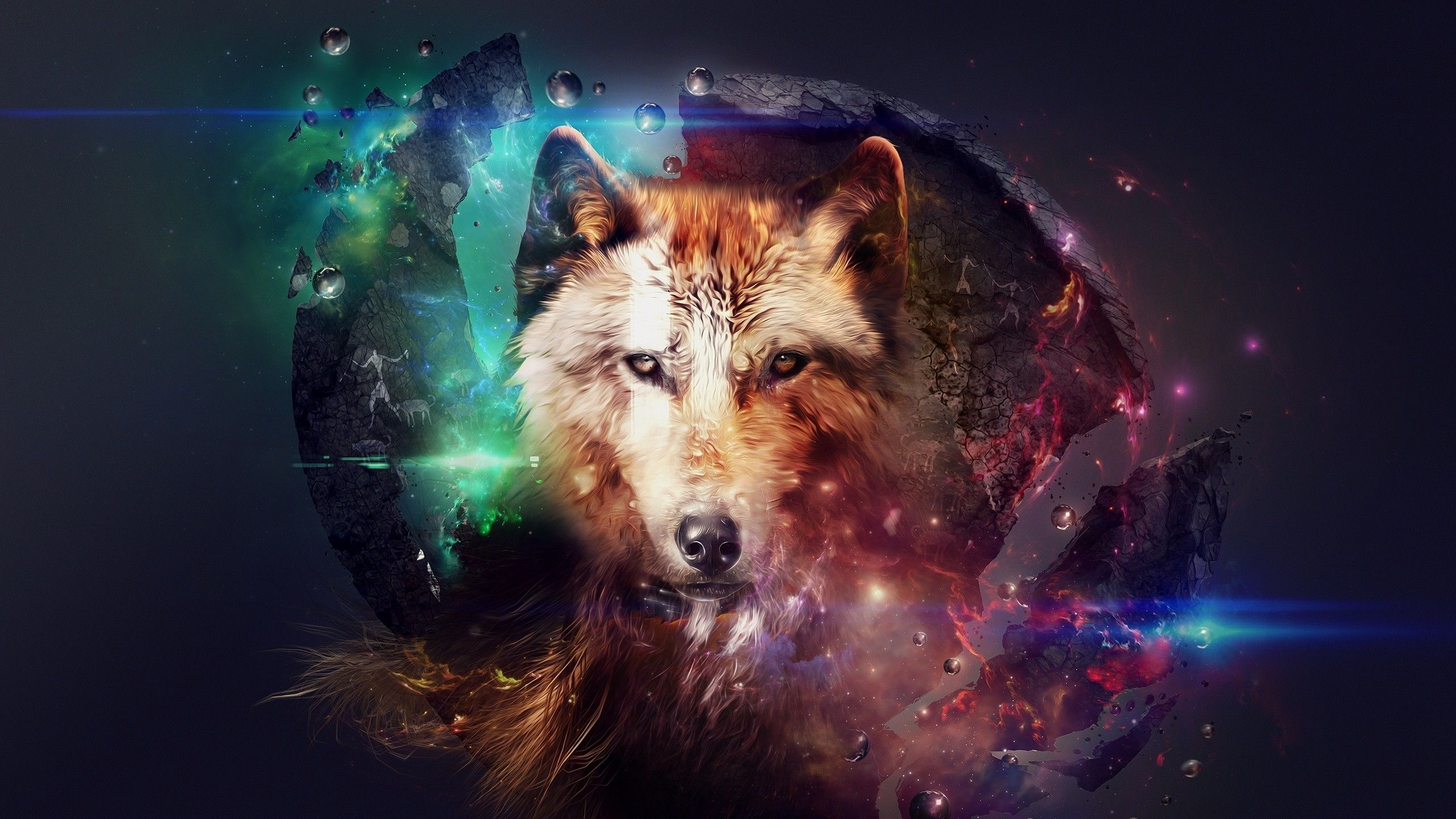 2560x1440 wolf clipart image transparent stock Wolf Art Wallpapers - Top Free Wolf Art Backgrounds - WallpaperAccess image transparent stock