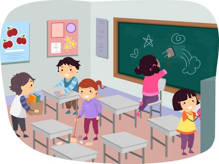 257 clipart clip free 71 257 Classroom Stock Vector Illustration And Royalty Free Advanced ... clip free