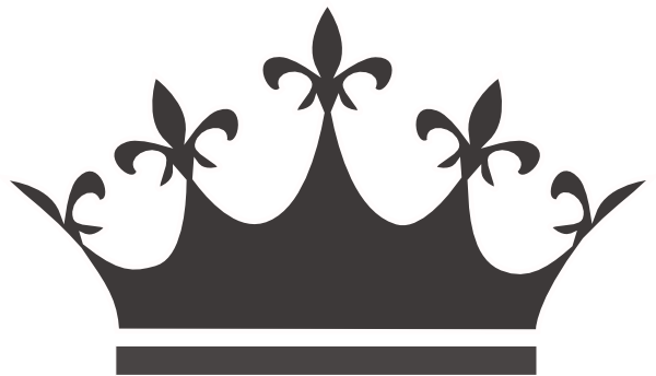 Black Crown Clipart | Free download best Black Crown Clipart on ... clipart black and white stock