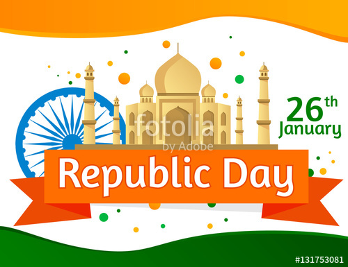 26 january clipart background graphic royalty free library Happy Republic Day of India. Illustration or background for 26 ... graphic royalty free library