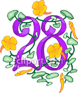 Number 28 clipart clip art library 28 clipart 3 » Clipart Station clip art library