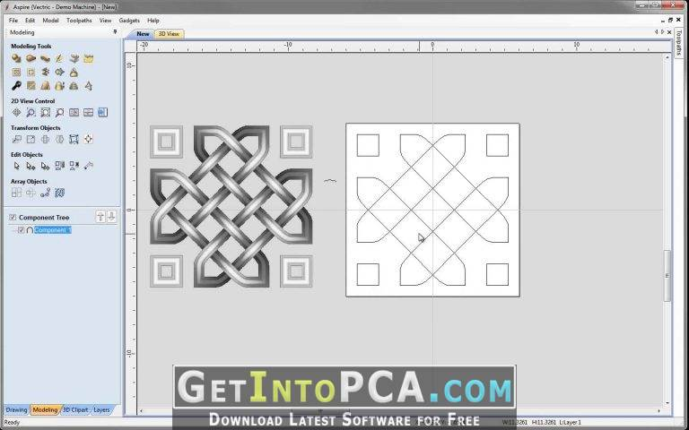 2-d array clipart svg black and white Get into PC » Download Vectric Aspire 9.0.1.0 With Bonus Clipart Free svg black and white