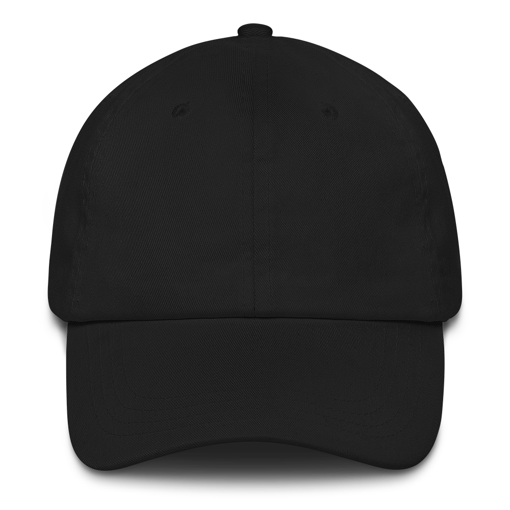 2d baseball cap clipart graphic black and white stock Yupoong 6245CM - Unstructured Classic Dad Cap - Mockup Generator ... graphic black and white stock