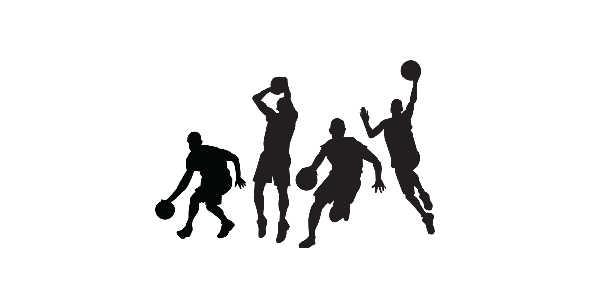 Picture of players free. Basketball backboard breaking clipart