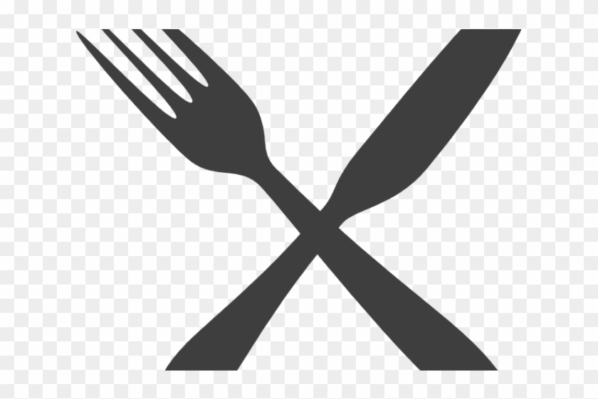 Knife and fork clipart graphic freeuse Fork Clipart Black And White - Fork And Knife Clipart Png ... graphic freeuse