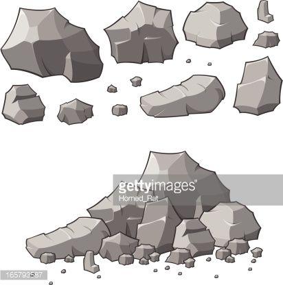 2d rock clipart transparent download stone cracks vector - Google Search | 2D digital painting | 2d game ... transparent download