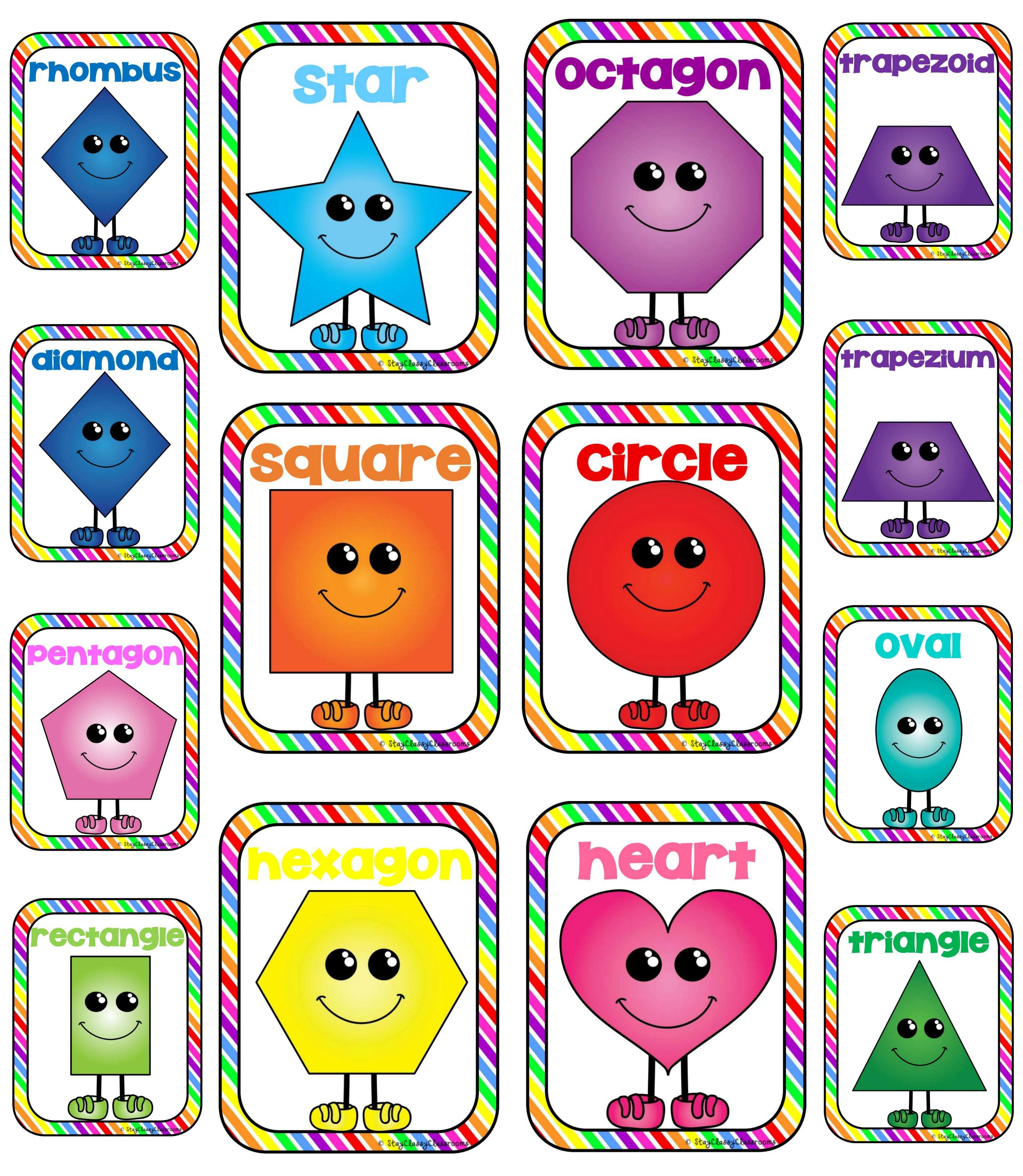 2d shape art clipart banner free Free 2D Shapes Cliparts, Download Free Clip Art, Free Clip Art on ... banner free