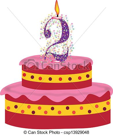 2nd Birthday Clipart - Clipart Kid clip art transparent library