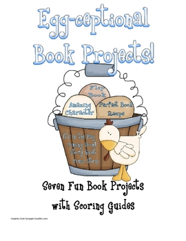 2nd grade recipe clipart svg Egg-Ceptional Book Projects | Read About It! | 2nd grade books ... svg