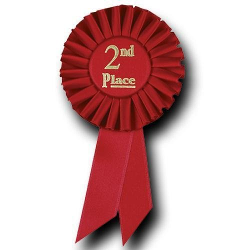 2nd place award ribbon clipart banner free stock 2nd Place Rosette Ribbon Rosette Award Ribbons banner free stock