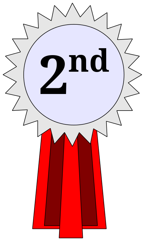 Second clipart clip library library Free Clipart: 2nd Place Ribbon | cross37 clip library library