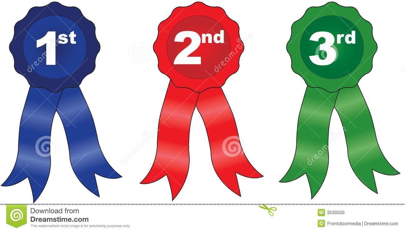 2nd place ribbon clipart graphic black and white stock 1st 2nd 3rd Place Ribbon Clipart - Clipart Kid graphic black and white stock
