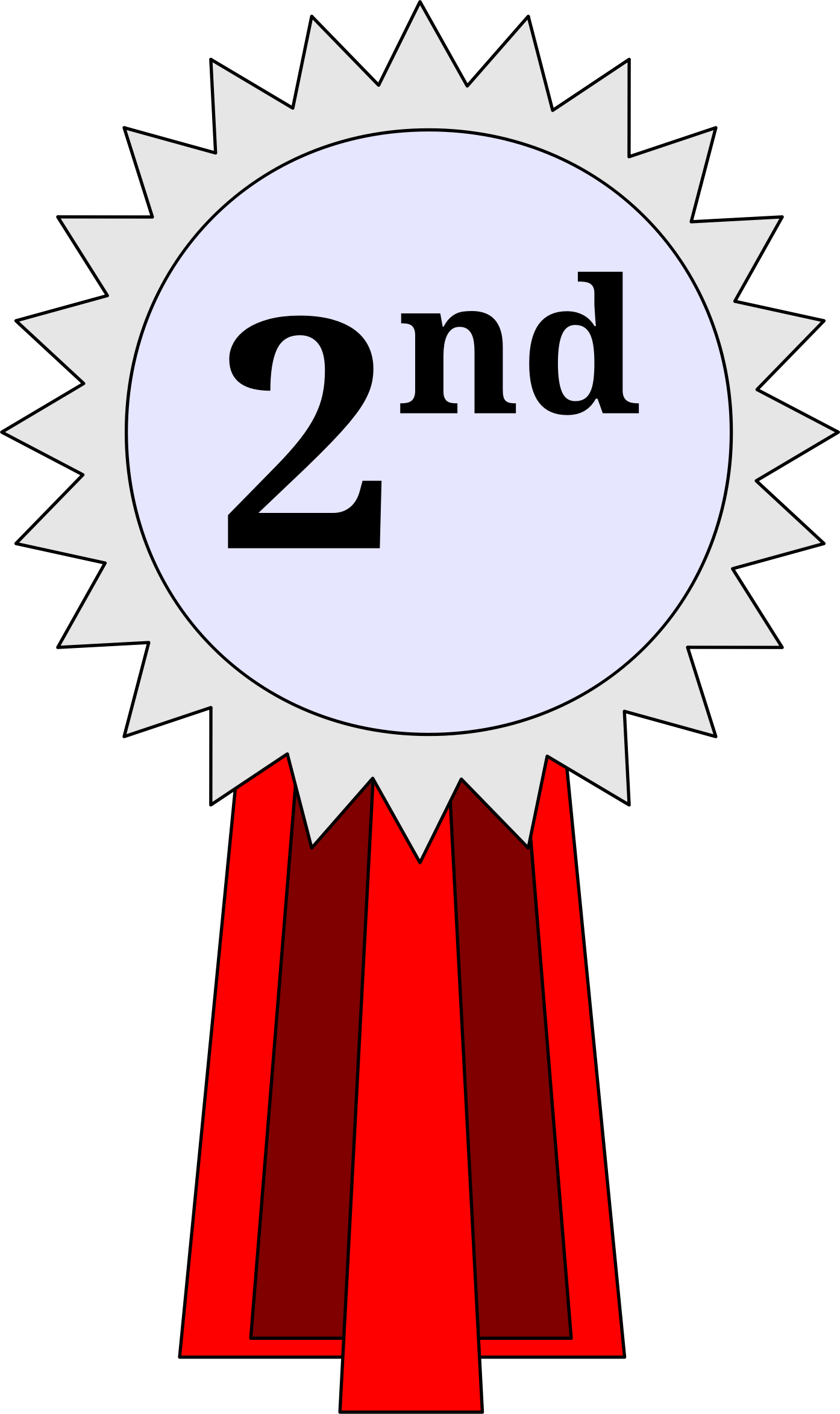 2nd place ribbon clipart banner free stock 1st 2nd 3rd Place Ribbon Clipart - Clipart Kid banner free stock