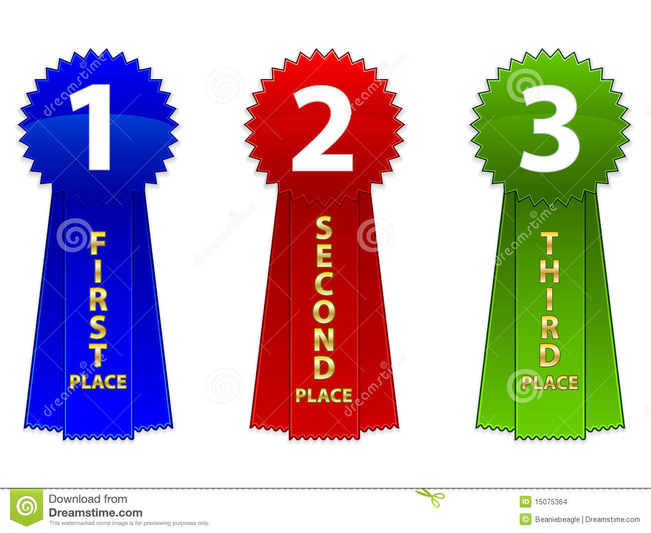 2nd place ribbon clipart svg royalty free 1st 2nd 3rd Place Ribbon Clipart - Clipart Kid svg royalty free