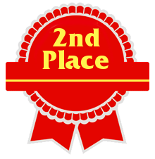 2nd place ribbon clipart clip freeuse library Second Place Award Ribbon Clipart - Clipart Kid clip freeuse library