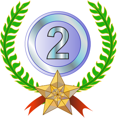 2nd place winner clipart png library library Free Second Cliparts, Download Free Clip Art, Free Clip Art on ... png library library