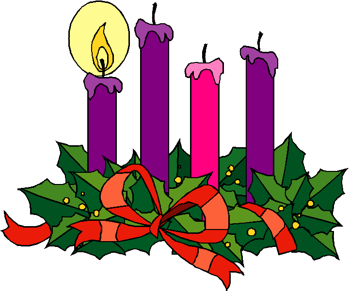 2nd sundays of advent candle clipart png free stock Advent Wreath Cliparts - Cliparts Zone png free stock