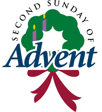 2nd sundays of advent candle clipart png stock Second Sunday Of Advent Wreath Clipart png stock