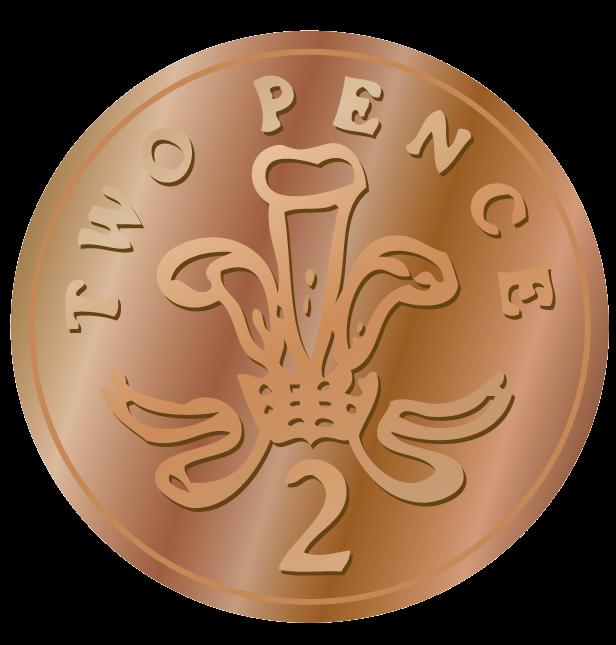 2p coin clipart stock Nickel clipart coin clip art gold coins 2 - Clipartix stock