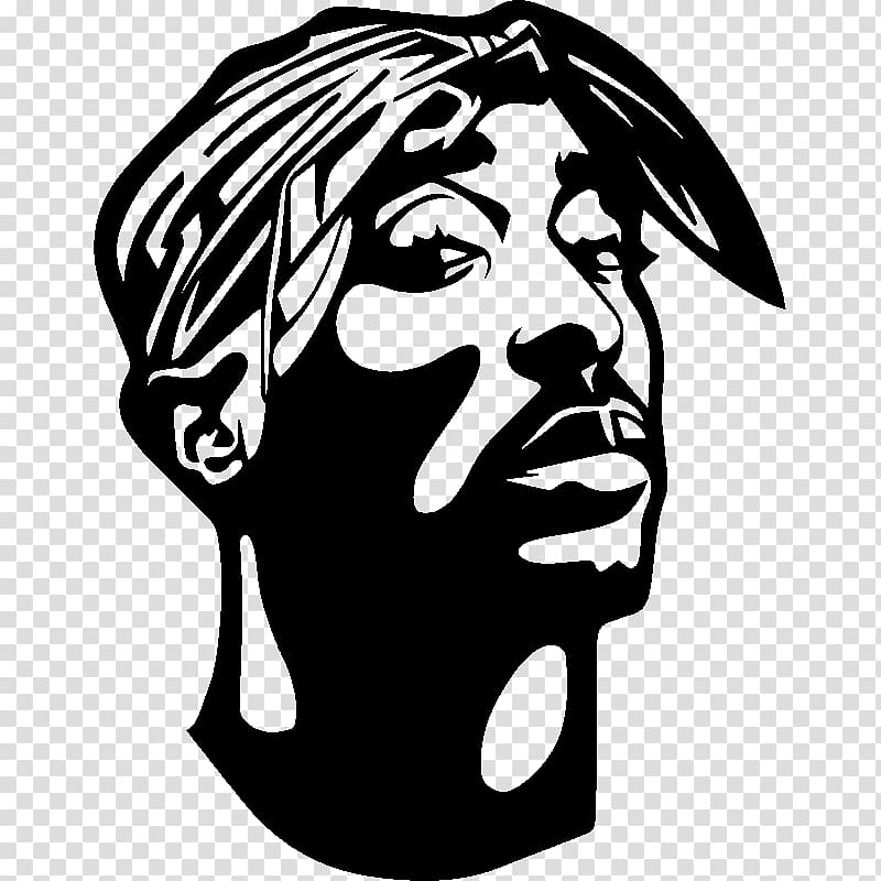 2pac clipart banner free download Sticker Wall decal Paper Rapper, tupac transparent background PNG ... banner free download
