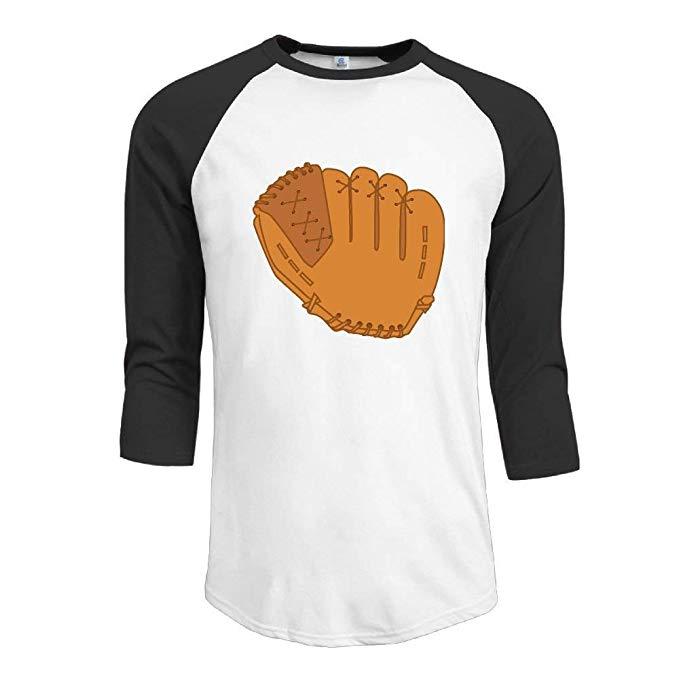 3 4 sleeve t-shirt clipart banner royalty free download Amazon.com: Baseball Glove Clip Art Man Baseball 3/4 Sleeve Raglan ... banner royalty free download
