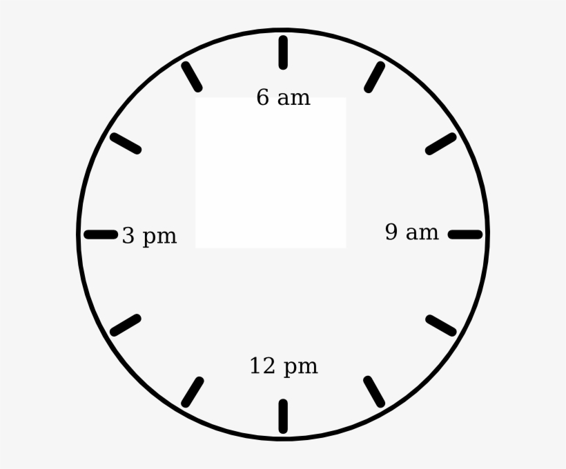 3 am clipart svg black and white library Png Black And White Library Clock Am Clip Art At Clker - Clock ... svg black and white library