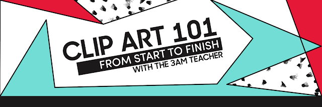 3 am clipart vector free The 3am Teacher: It\'s Here!! Clip Art 101: From Start to Finish vector free
