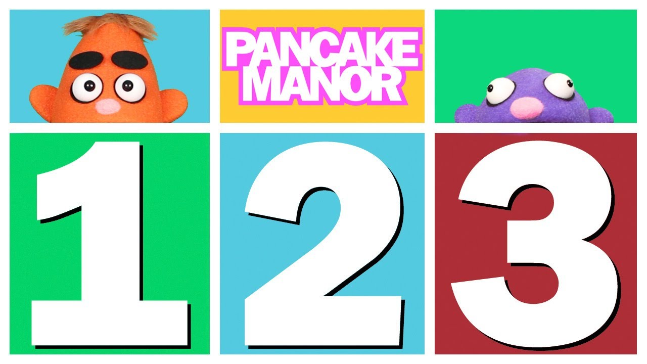 3 and a half years old clipart graphic black and white library Count 1 2 3 | Counting Song for Kids | Pancake Manor graphic black and white library