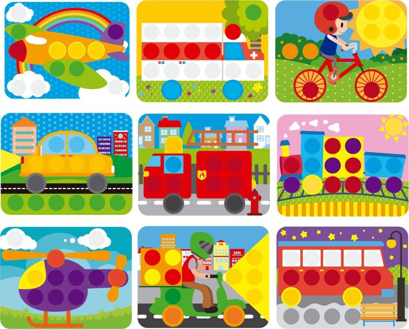 3 and a half years old clipart svg royalty free library GoAppuGo 10-Vehicles-in-1 Creative activity toys for 1 2 3 year old ... svg royalty free library