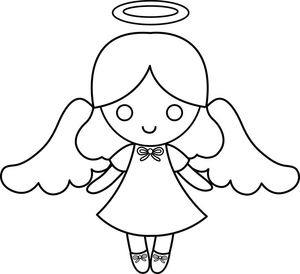 3 angel baby clipart black and white banner royalty free stock Black And White Baby Angel Clipart | Free Images at Clker.com ... banner royalty free stock