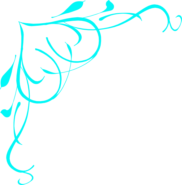 3 baby blue lines clipart