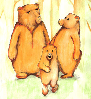 3 bears walking clipart svg transparent library Free Three Bears, Download Free Clip Art, Free Clip Art on Clipart ... svg transparent library