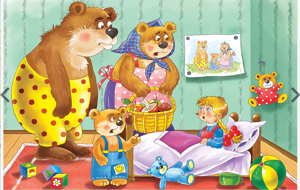 3 bears walking clipart png royalty free download World Stories Wednesday: Goldilocks and the Three Bears - KidsOut png royalty free download