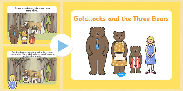 3 bears walking clipart png black and white download Goldilocks and the Three Bears Story PowerPoint - goldilocks and the ... png black and white download