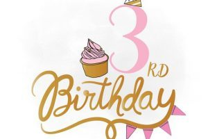 3 birthday clipart svg transparent library 3rd birthday clipart 4 » Clipart Portal svg transparent library