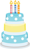 3 birthday clipart library Free Birthday Clipart - Clip Art Pictures - Graphics - Illustrations library