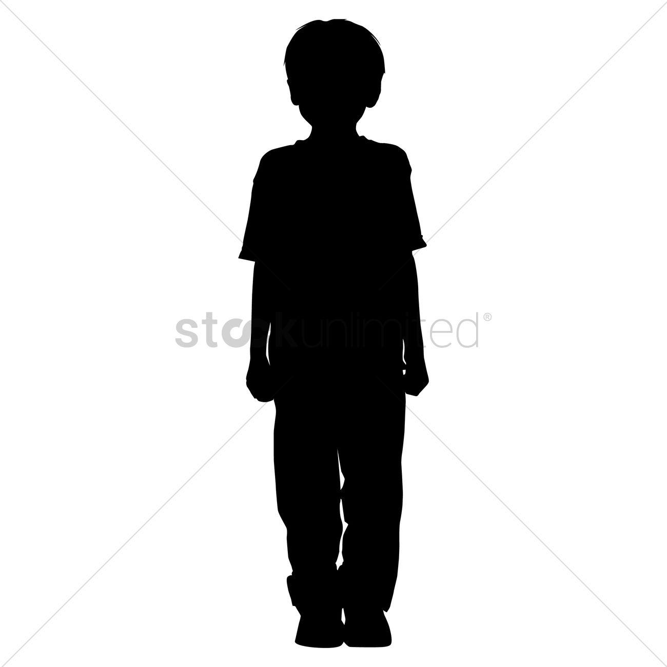 3 boys silhouette clipart vector transparent Silhouette clipart boy 3 » Clipart Station vector transparent
