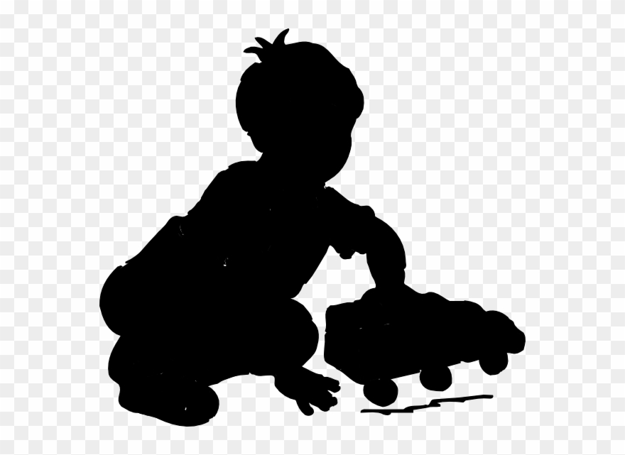 3 boys silhouette clipart image stock Boy Playing Silhouette Clip Art - Children Playing Clip Art - Png ... image stock